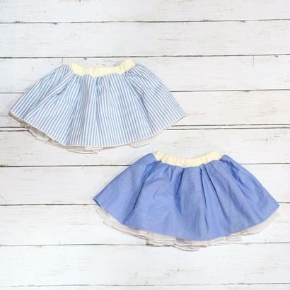 【SALE】Kids zoo(キッズズー)ベビーチュールスカート 70cm