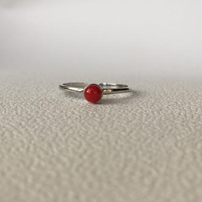 red drop ring (sv