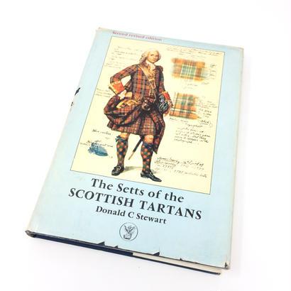 【古本】B024  The Setts of the SCOTTISH TARTANS /Donald c Stewart ドナルド・カルダー・スチュワード
