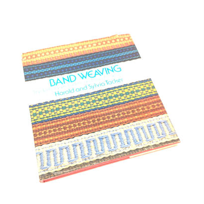 【古本】B016  BAND WEAVING