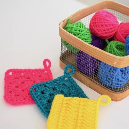 【受付中】編み物の基礎/かぎ針編み@yamagiwa金沢(2/4)お申し込み