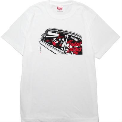 LAIDBACK T-shirt [P.WHITE]