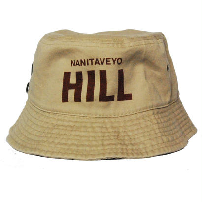 NANITAVEYO HILL Bucket Hat  [KAHKI]
