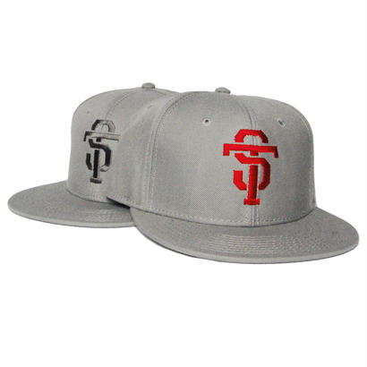 ST TRANSFORM SNAPBACK CAP [RED / GRAY]