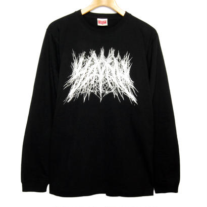 """ YAVAY "" LONG T-Shirt  ヤバいロンT [BLACK]"