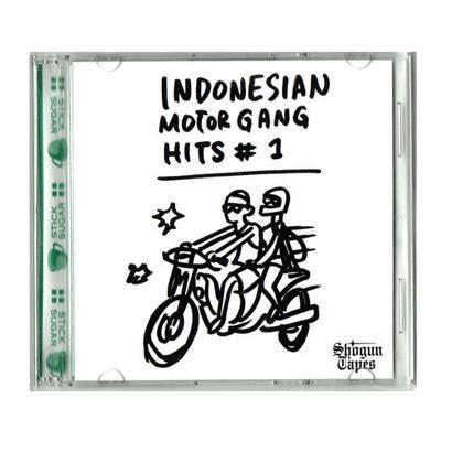 INDONESIAN MOTOR GANG HITS #1 MIX CD