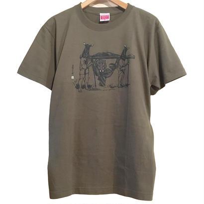 和製STAR WARS  T-Shirt  [DEEP GREEN]