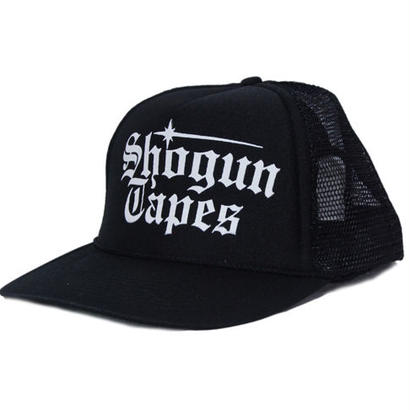 SHOGUN TAPES  MESH CAP [BLACK]