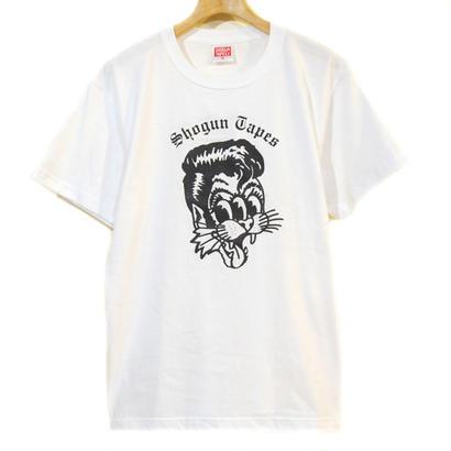 Three Eyes Cats T-Shirt  [WHITE]