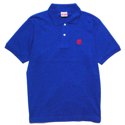 ONE POINT CHEECH POLO [BLUE]