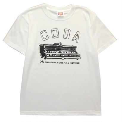"""""""CODA"""" T-Shirt  [WHITE]"""