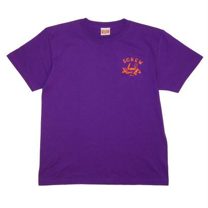 SCREW T-Shirt  [PURPLE]