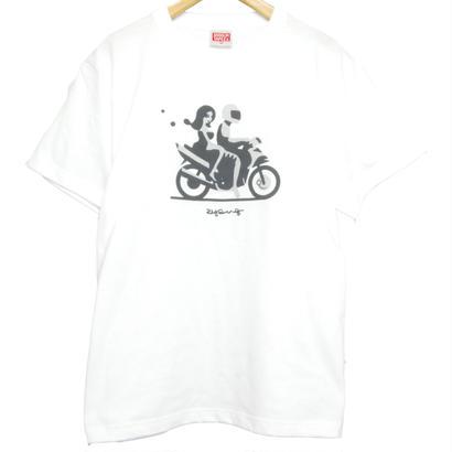 """""""CHANGUU RIDE"""" T-Shirt   [WHITE]"""