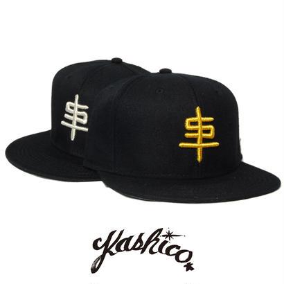 """""""KASHICO"""" 3D ST 串 CAP  [GOLD/SILVER]"""