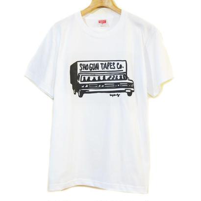SHOGUNTAPES重役出勤T-Shirt  [WHITE]