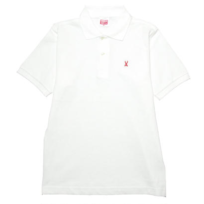 SHOGUN Cross Sword POLO [WHITE]