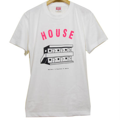 Suburban House T-Shirt [P / WHITE]
