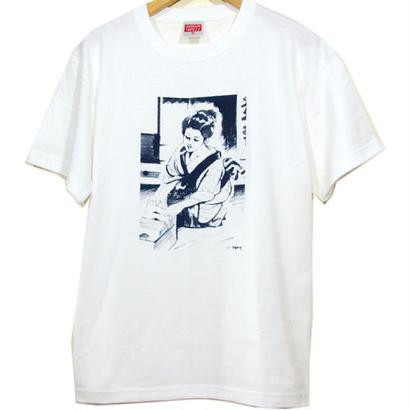 """箱堀娘 """" おdigさん """" TEE [WHITE]"""