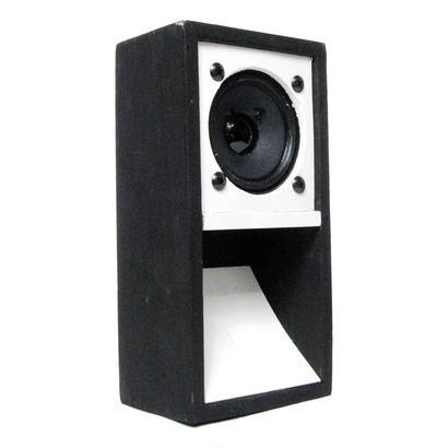 """MINI SOUND SYSTEM""  2TONE Back-loaded [B&W]"