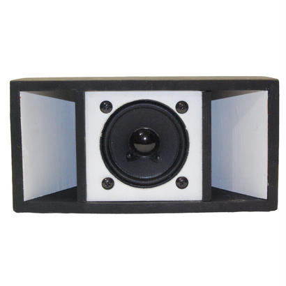 """MINI SOUND SYSTEM""  2TONE MID [BLACK&WHITE]"