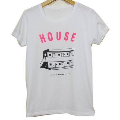 Suburban House Tee レディース