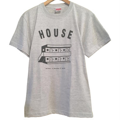 "HOUSE ""apartment"" T-Shirt  [ASH]"