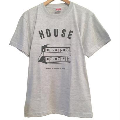 "HOUSE ""apartment"" Tee [ASH]"