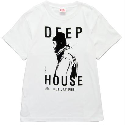 DEEP HOUSE DOT JAY PEE T-Shirt   [WHITE]