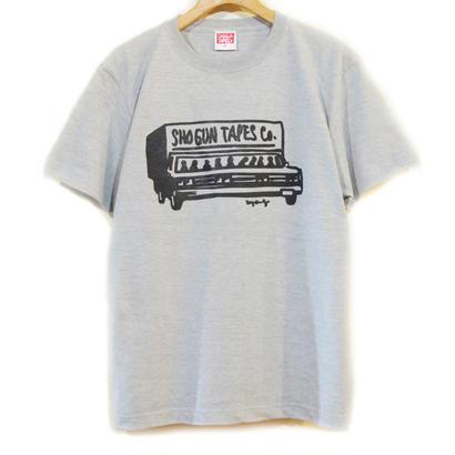 SHOGUNTAPES重役出勤T-Shirt  [MIX GRAY]