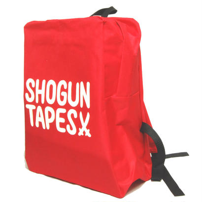 "SHOGUNTAPES ""BACKPACK"" [RED]"