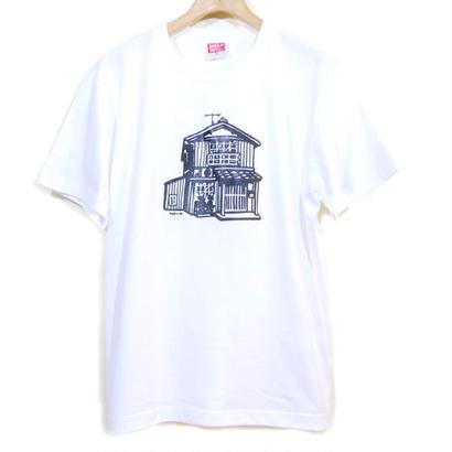 """木造築50年 """"イエティ"""" T-Shirt  [WHITE]"""