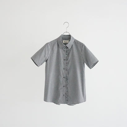 184342 ギンガムチェックシャツ