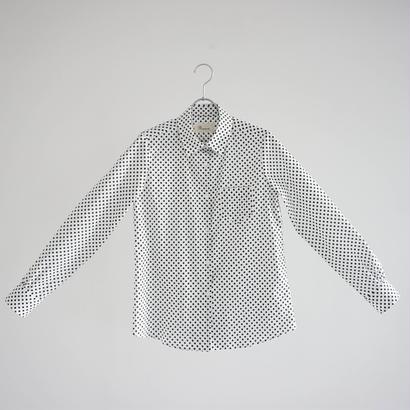 174816 ドットプリントシャツ