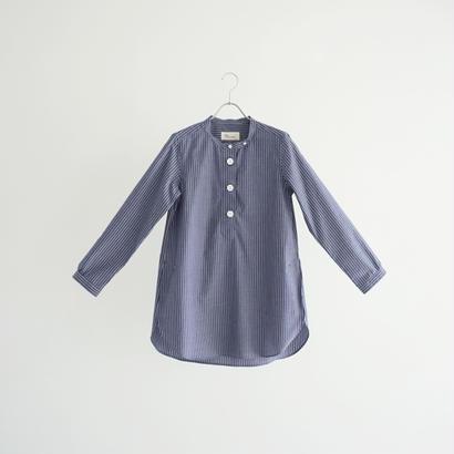 184019 スタンドカラーシャツ ロング