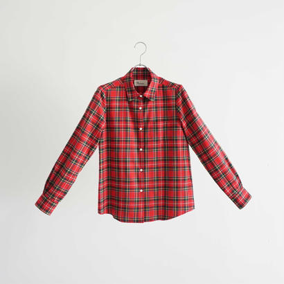 174802 タータンチェックシャツ