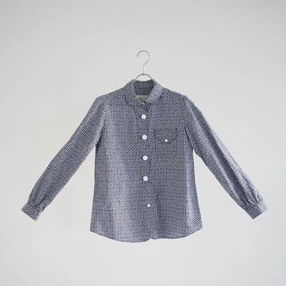174830 小花柄プリントシャツ