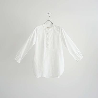 184508 ヘンリーネックシャツ ロング丈