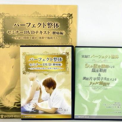 パーフェクト整体セミナー(腰痛編) 片平悦子