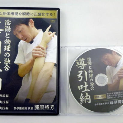 陰陽と物理の融合 導引吐納 DVD 藤原將芳