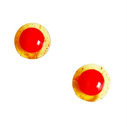 BAKELITE round earrimgs