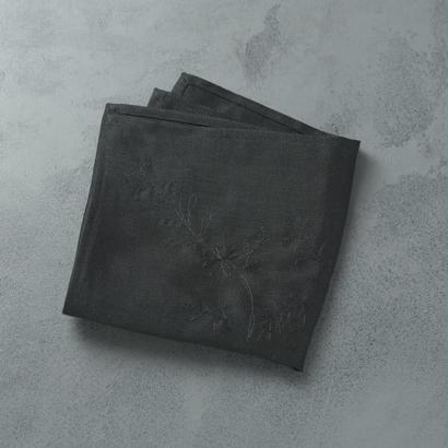 shuo16035 shuo×Nutel Handkerchief(Black)