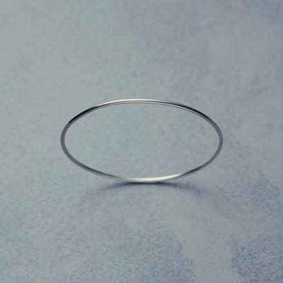 shuo18004  K18WG Bangle(1.8mm)
