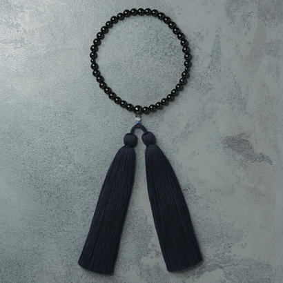 shuo16005 Juzu(Black tourmaline×Navy) 女性用