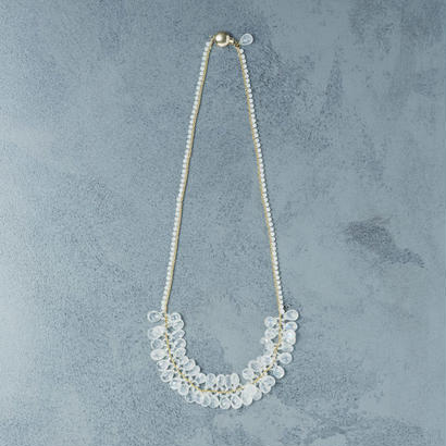 shuo13001  Moonstone Necklace