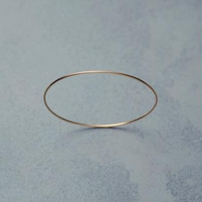 shuo18001  K18YG Bangle(1,2mm)