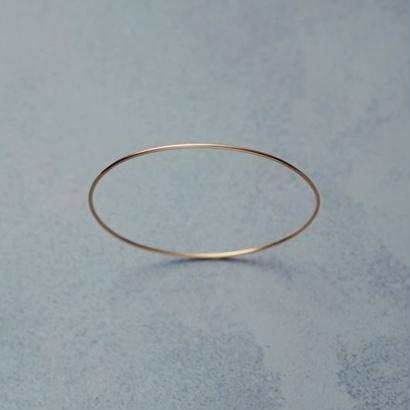 shuo18001  K18YG Bangle(1,2mm)