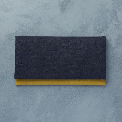 shuo12040 Juzu Ire (Navy × Mustard)