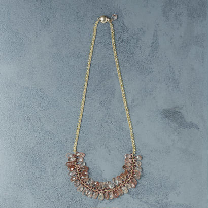 shuo13005  Sunstone Necklace