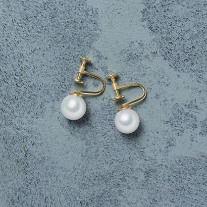 shuo13015 Akoya Pearl Earring