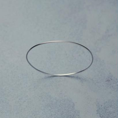 shuo18003  K18WG Bangle(1,2mm)